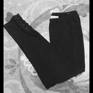 Chico's sz 1 (8-10) black leggings